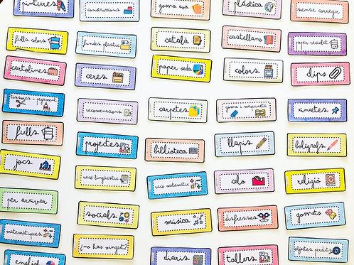 Cartells aula (català)
