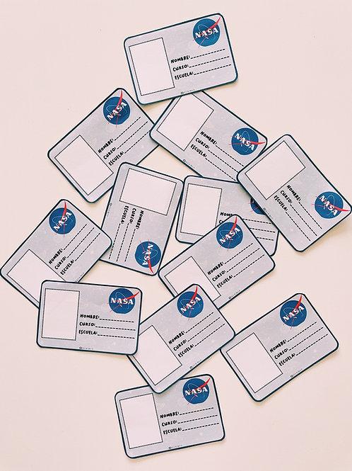 Identificación astronautas