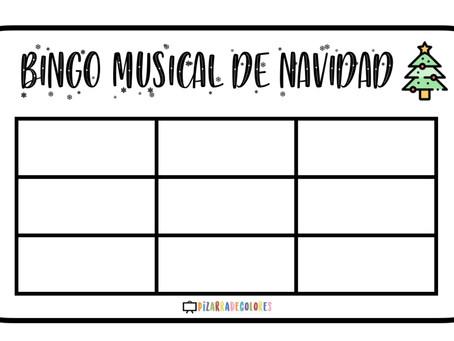 BINGO MUSICAL DE NAVIDAD