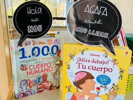 Carteles para los libros nuevos