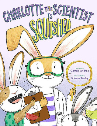 Author Interview, Camille Andros, Charlotte the Scientist is Squished