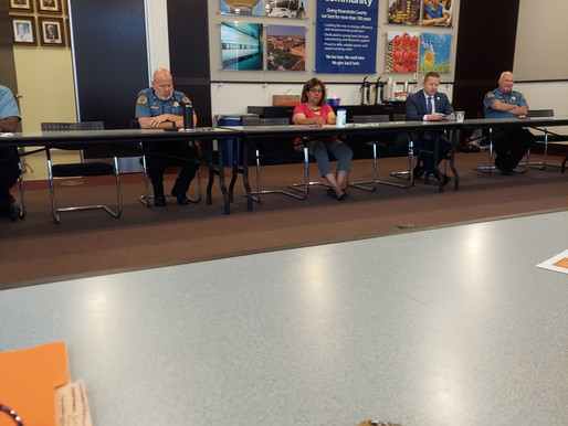 Update: J&E Coalition Meeting with Police Chief Karl Oakman