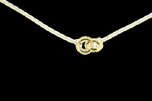 Minimalist Ring Necklace