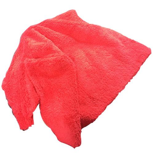 SM Arnold Long Pile Edgeless Microfiber - Red