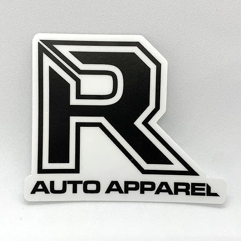 R Auto Apparel toolbox sticker