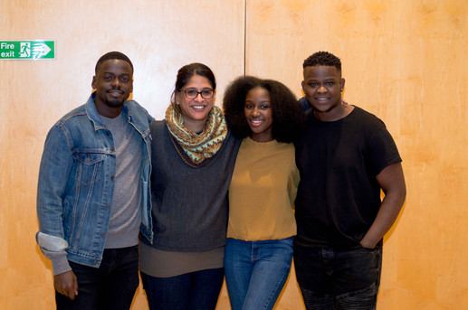 Daniel Kaluuya, Indhu Rubasingham, Jessica Mensah & Romeo
