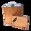 Thumbnail: 6 Oz. Wooden Hip Flask & Matching Credit Card Bottle Opener (2-Piece Flask Set)