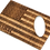 Thumbnail: American Flag Wood Credit Card Bottle Opener