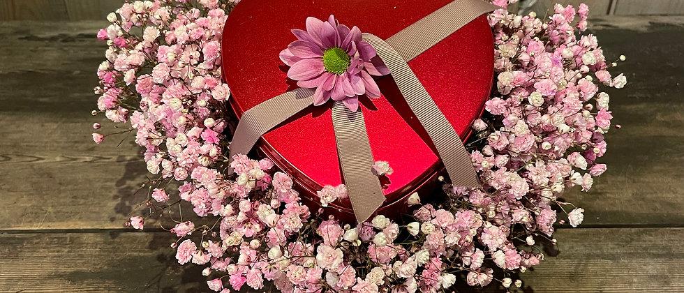 Mors dags hjerte m. chokolade hjerte i