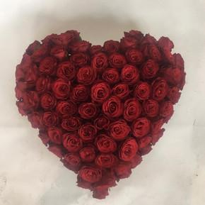Kun roser