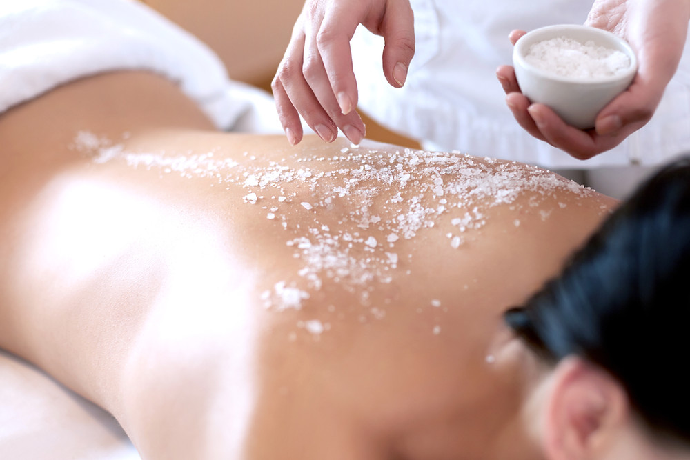 Salt Spa Scrub
