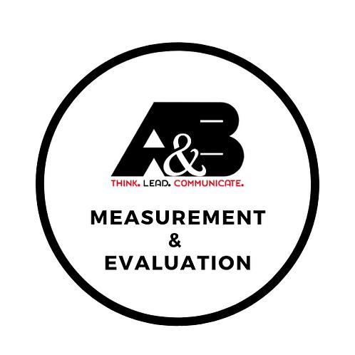Evaluation & measurement