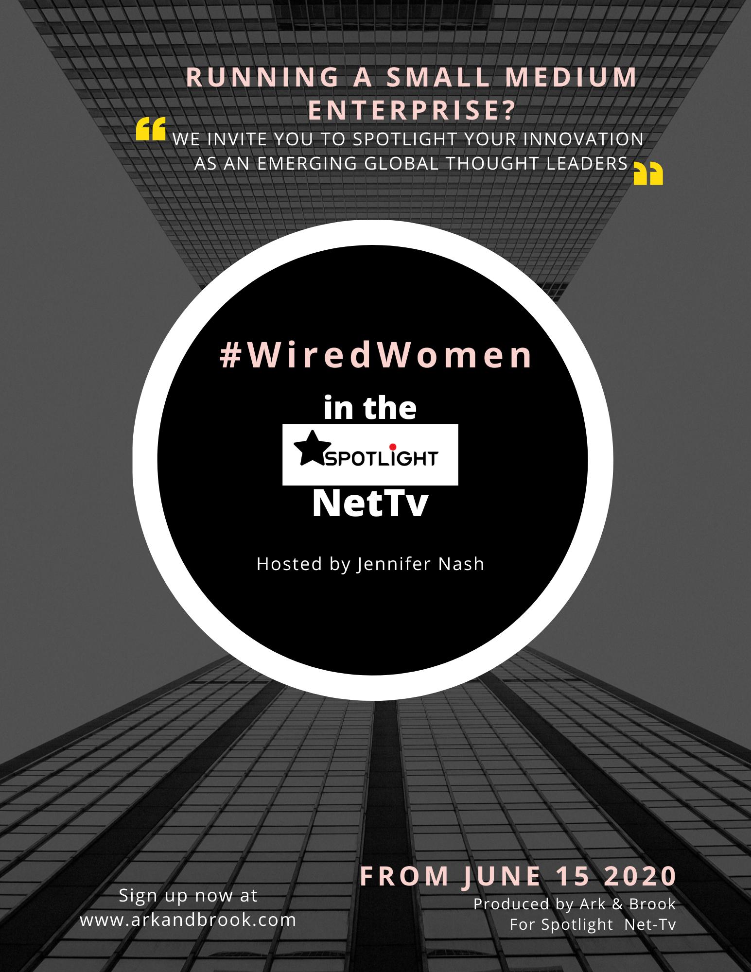 #WiredWomen PR Plus