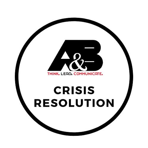 Crisis Resolution