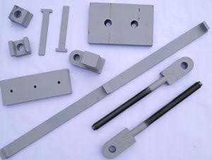 Erstellte Ersatzteile von MD Maschinen- & Stahlbau GmbH