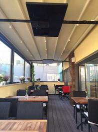 Restaurant ısıtma Ardo Cam Panel Isıtıcı