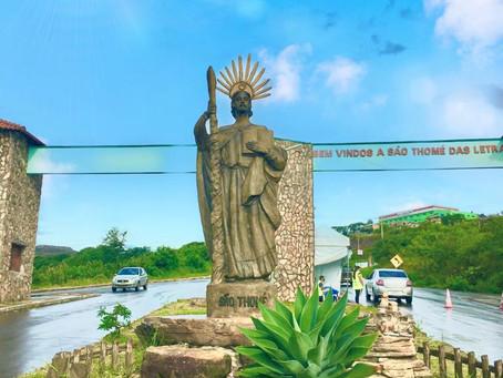 O apóstolo São Tomé e o roubo da imagem original do santo.