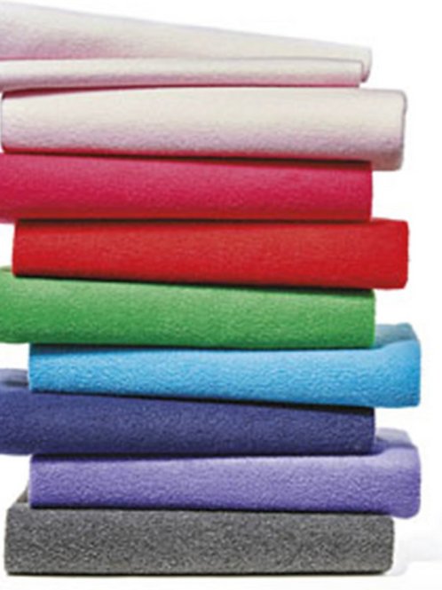 Pill Fleece Fabric Solids