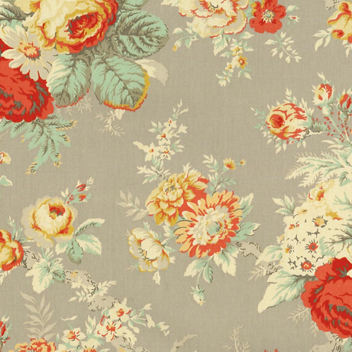 Waverly Upholstery Fabric-Sanctuary Rose Clay