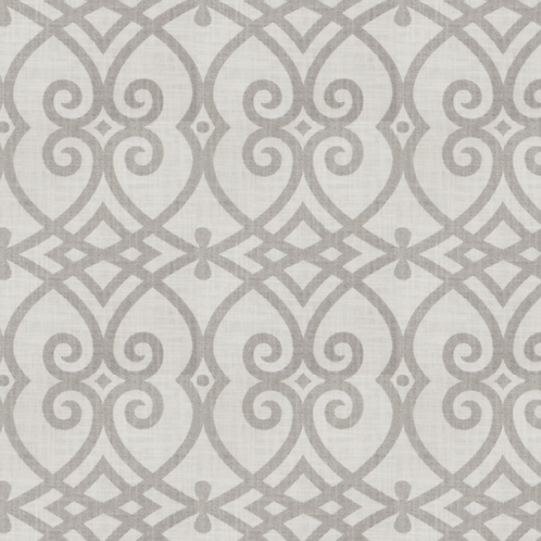 Jaclyn Smith Upholstery Fabric-Gatework Rot/Dove Gray