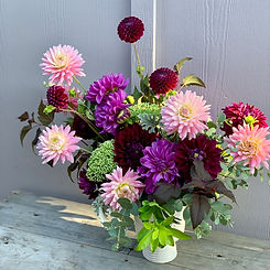 Dahlia Floral Display