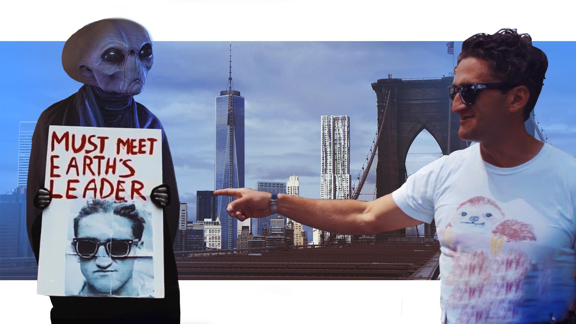 Alien In NYC Thumb
