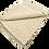 Thumbnail: Camel and White Dimond Rug