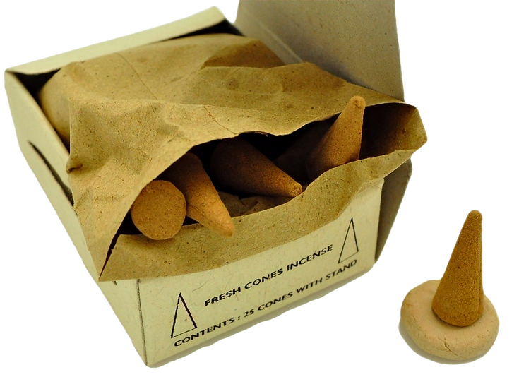 Natural Incense Cones Amber Aroma