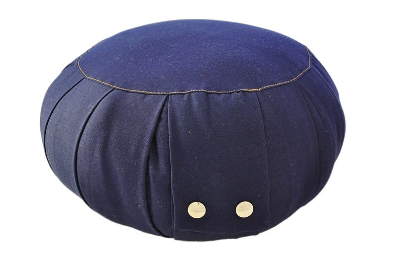 Little Buddha Dark Blue Meditation Cushion