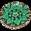 Thumbnail: Green Incense Burner Mandala Hearts and Flowers