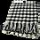 Thumbnail: Manta Quadrados Azul/Branco