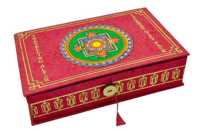 Red Bodhi Travel Altar Box