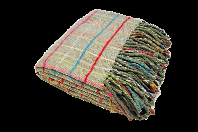 Multicolor Chess Blanket