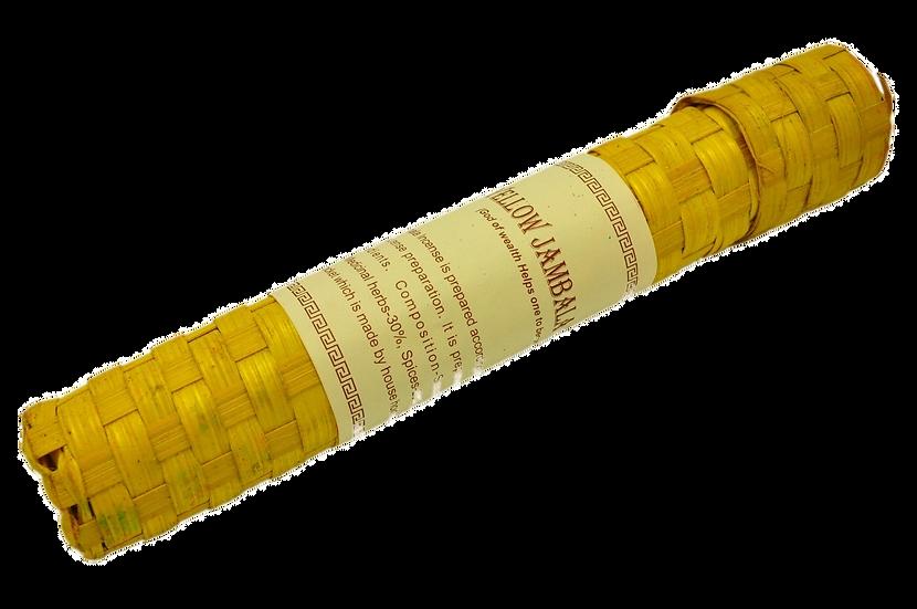 Tibetan Incense Yellow Jambala