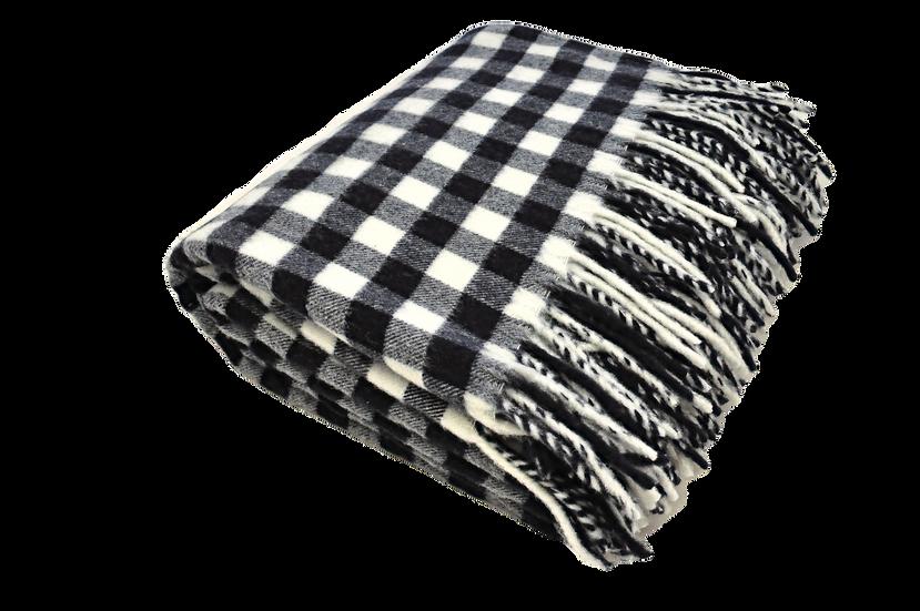 Blue/White Squares Blanket