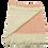 Thumbnail: Orange Fine Striped Pattern Blanket