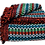 Thumbnail: Green and Red Ethnic Pattern Rug