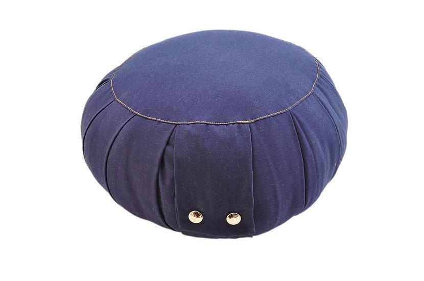 Super Big Buddha Dark Blue Meditation Cushion