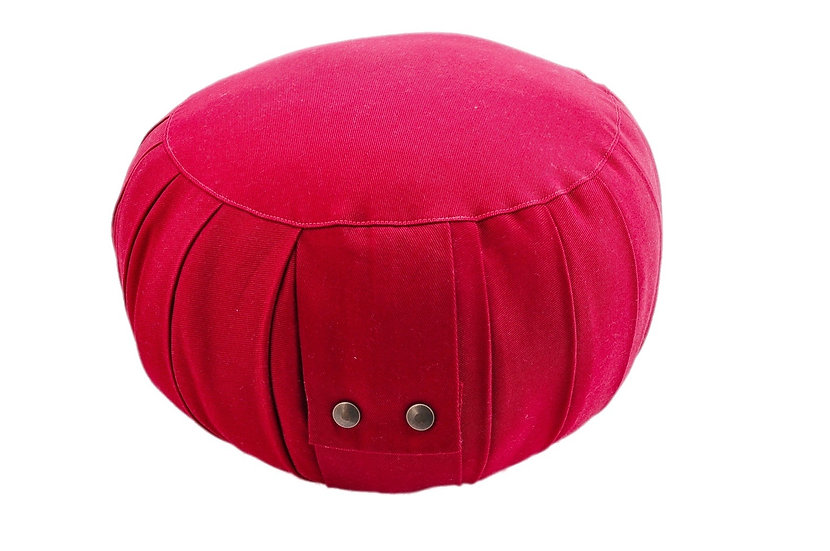 Little Buddha Bordeaux Meditation Cushion
