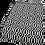 Thumbnail: Black and White Geometric Rug