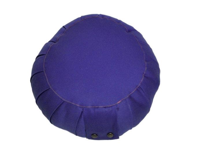 Little Buddha Blue Meditation Cushion