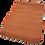 Thumbnail: Orange and Earth Geometric Rug