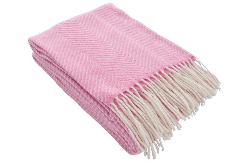 Pattern Herringbone Blanket