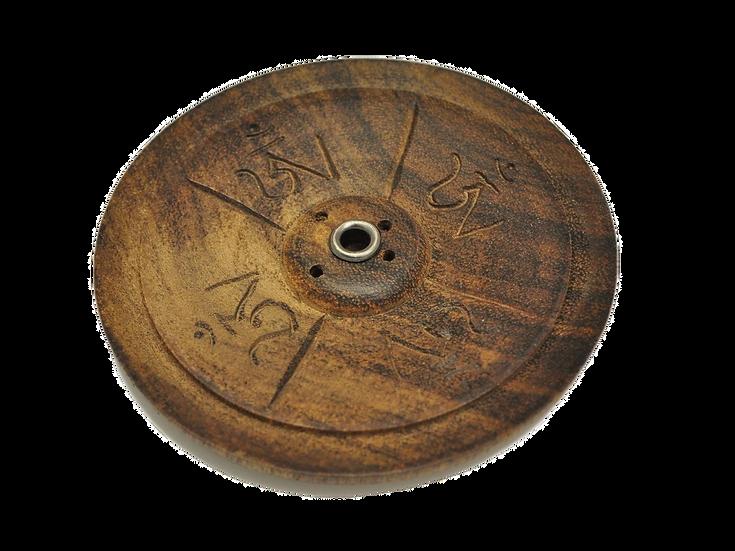 Tibetan Incense Burner Wood
