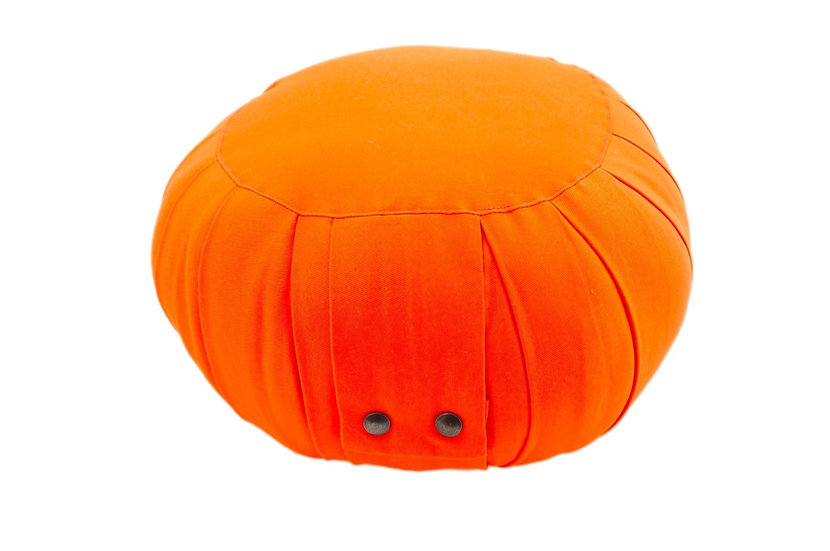 Little Buddha Orange Meditation Cushion