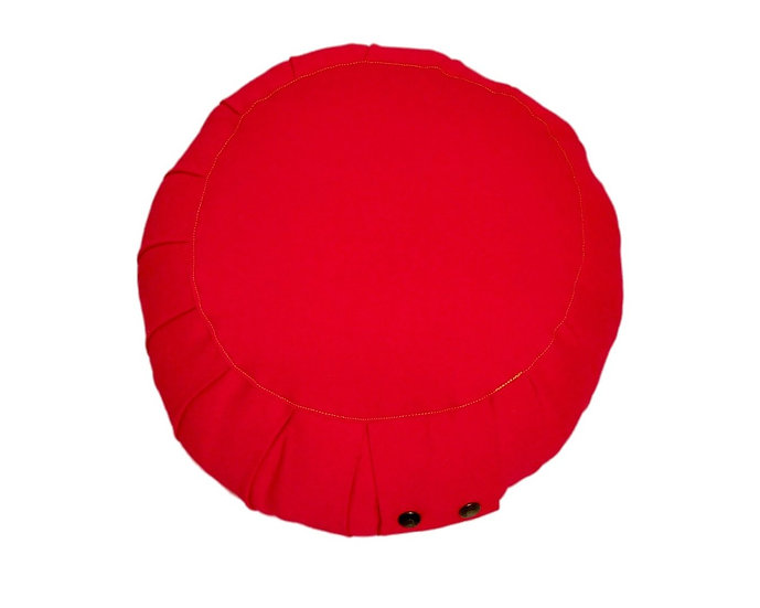 Little Buddha Red Meditation Cushion