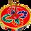 Thumbnail: Incensário Butanês Madeira Pintada
