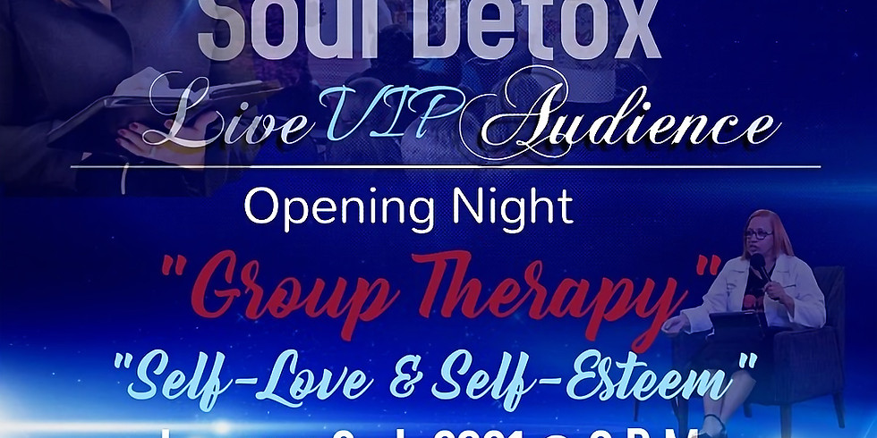 Soul Detox Opening Night! Live Audience