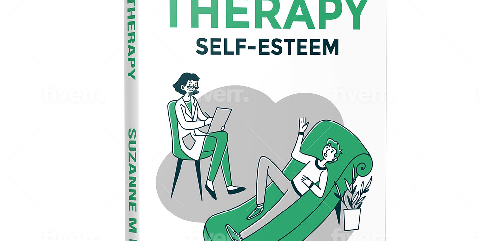 """Book Release - Group Therapy """"Self-Esteem"""""""