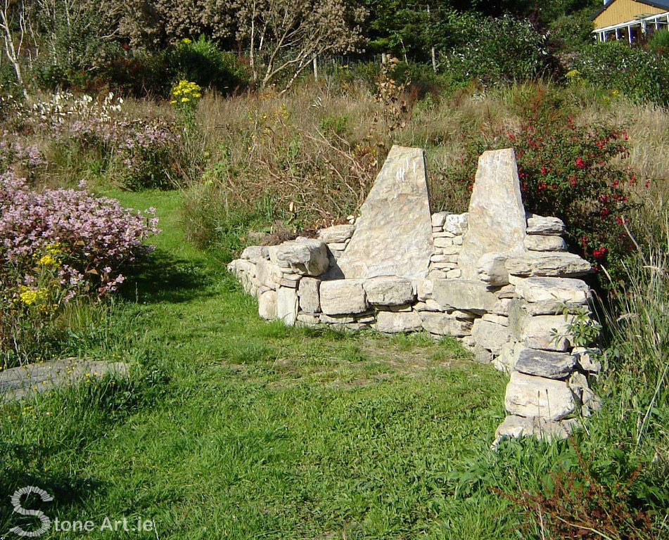 Stone Bench Hagal Farm